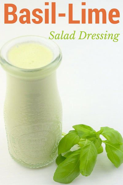 Basil Lime Salad Dressing