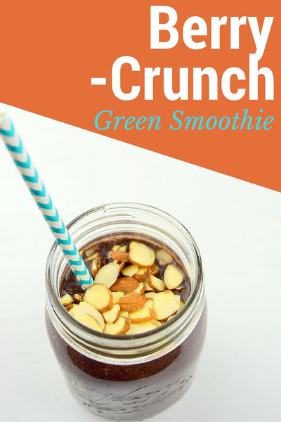 Berry Crunch Green Smoothie