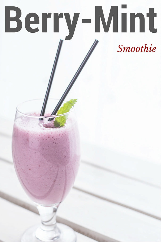 Berry-Mint Smoothie