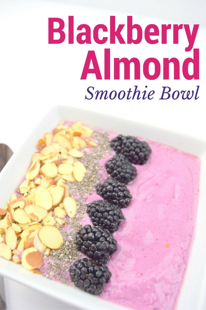 Blackberry Almond Smoothie Bowl