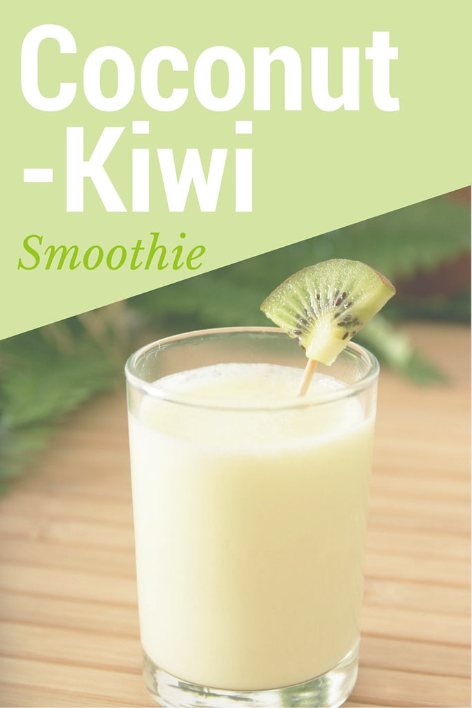 Coconut Kiwi Smoothie