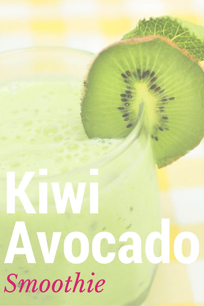 Kiwi Avocado Grass-Fed Protein Smoothie