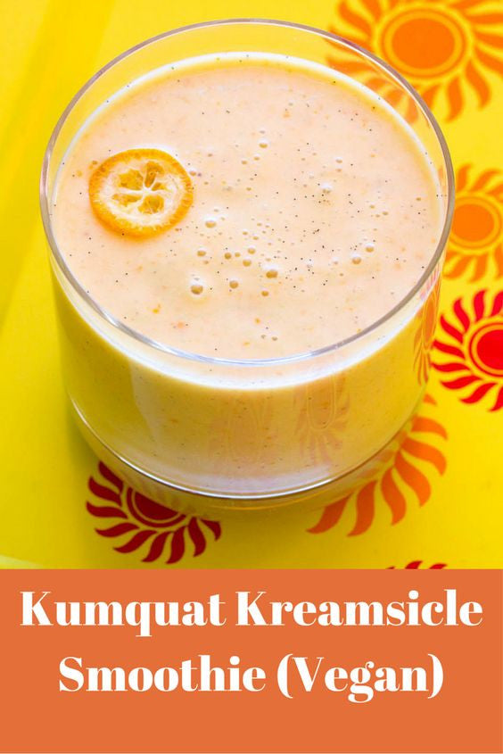 Kumpquat Kreamsicle Vegan Smoothie