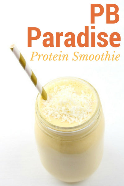Peanut Butter Paradise Protein Smoothie