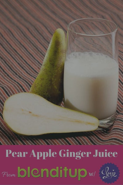 Pear Apple Ginger Juice