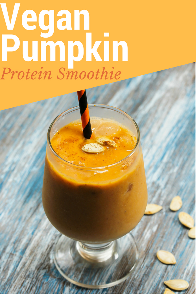 Vegan Pumpkin Protein Smoothie
