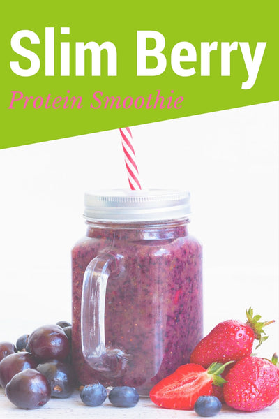 Slim Berry Protein Smoothie