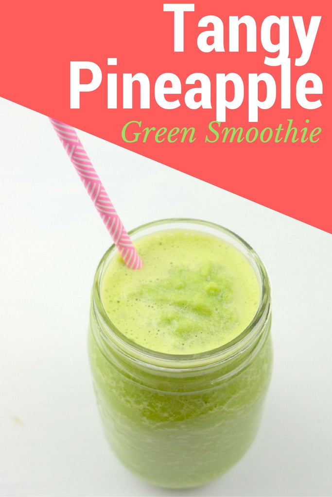 Tangy Pineapple Green Smoothie