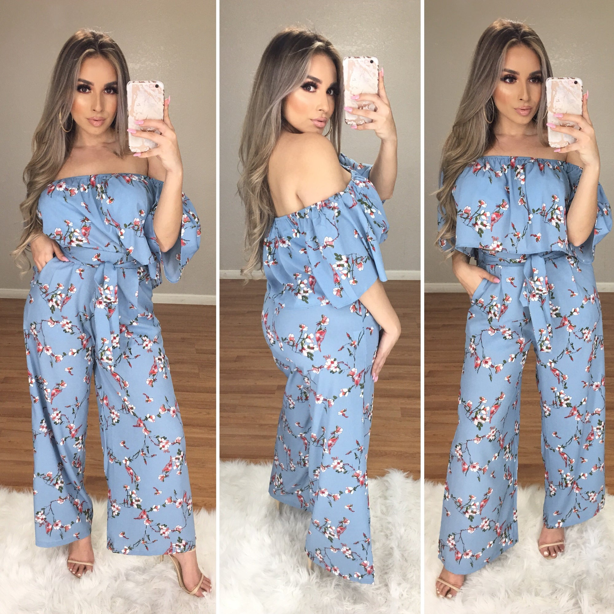 Evelyn 2PC Set (Baby Blue)
