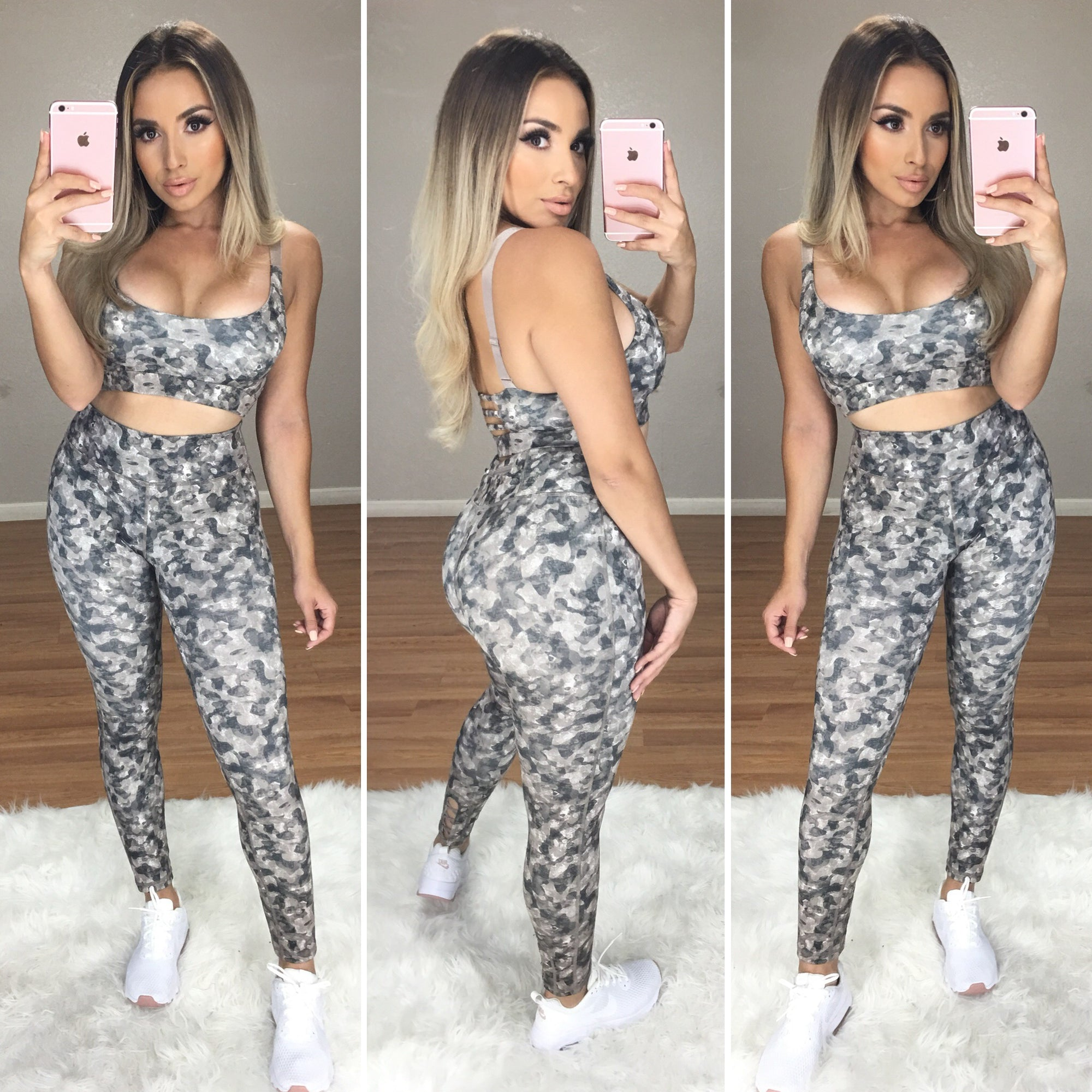 Work It Out 2PC Active Set (Camo Fade)