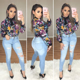 Ryan High Waist Jeans (Light Denim)