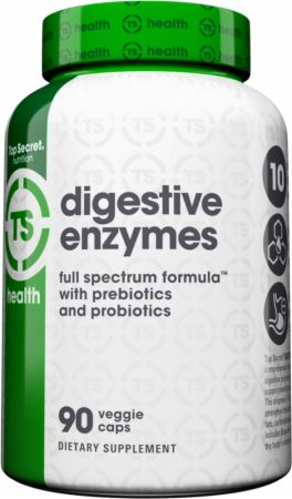 Take digestive enzyme to utilize all nutrients from your meals! たくさん食べても消化されなければ意味なし!