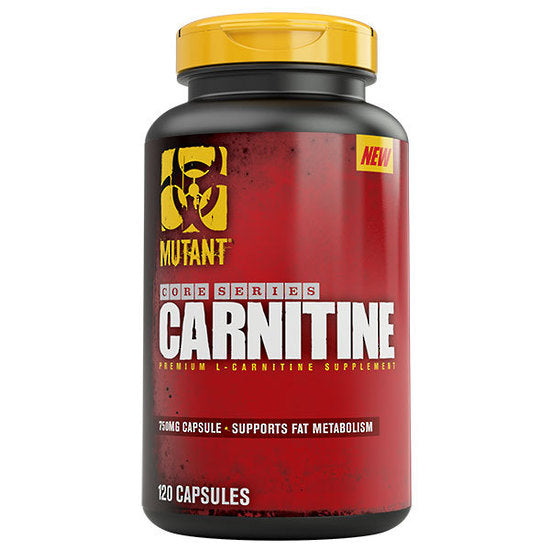 Mutant Carnitine 120cap available now! 脂肪燃焼の強力サポーター、ミュータントカルニチン入荷!