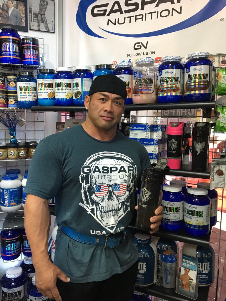 NEW GASPARI SKULL T AND TANKTOP AVAILABLE!