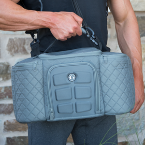 6PACKBAGS NEW Quilted Grey available now! 6パックバッグ限定カラー登場!