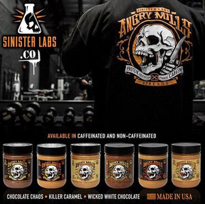 BUY 2 SINISTER LABS BUTTER SPREAD, GET FLEX LEWIS FREE TSHIRTS OR STRING BAG FREE! シニスターラボバタースプレッド2本買い上げにフレックスルイスTシャツかバッグが付いてくる!(数量限定)