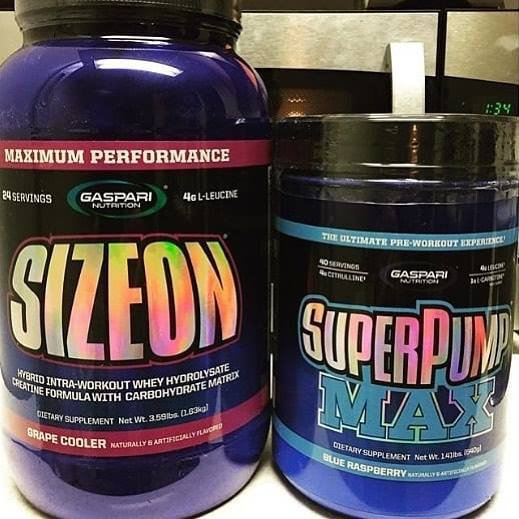 Superpump MAX/SizeOn, Best Pre-Intra combo ever? 10年間売れ続ける最強のスタック!