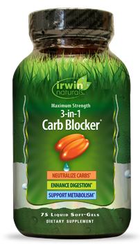 Irwin Naturals 3 in 1 Carb Blocker