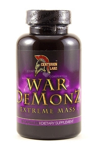 War Demonz Extreme Mass (プロホルモン)