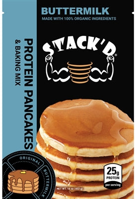 STACK'D PROTEIN PANCAKES (1 LB) スタックパンケーキ