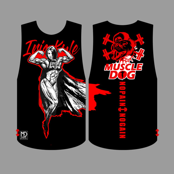 Iris Kyle Limited Edition Muscle Dog Tank Top