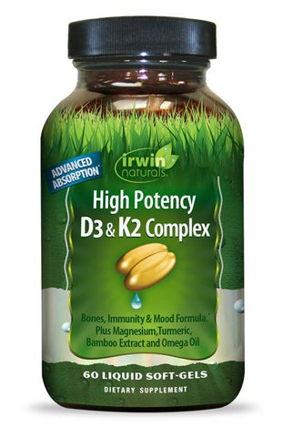 High Potency D3 & K2 Complex
