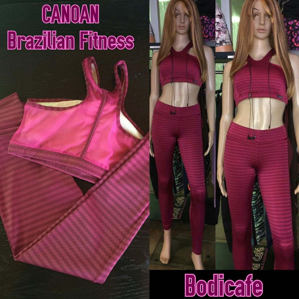 Canoan Raspberry Top and tights set