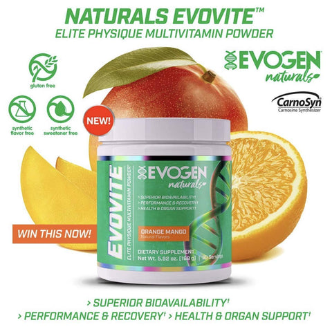 Evovite Natural Powder
