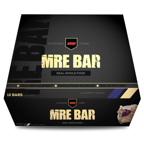 MRE BAR - MEAL REPLACEMENT BAR (1 BOX / 12 BARS) MREミールリプレイスメントバー(1箱12本入り)