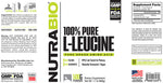 NUTRABIO L-LEUCINE Powder 500 Grams