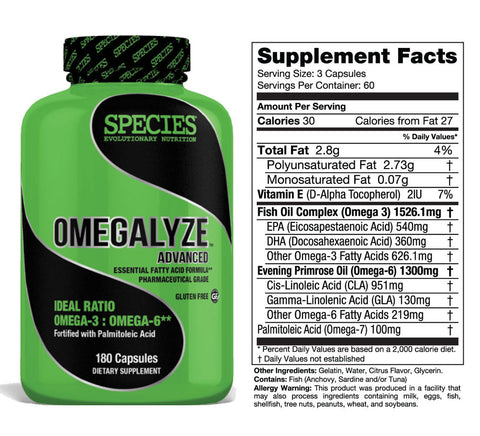 Omegalyze Essential Fatty Acid Fomula