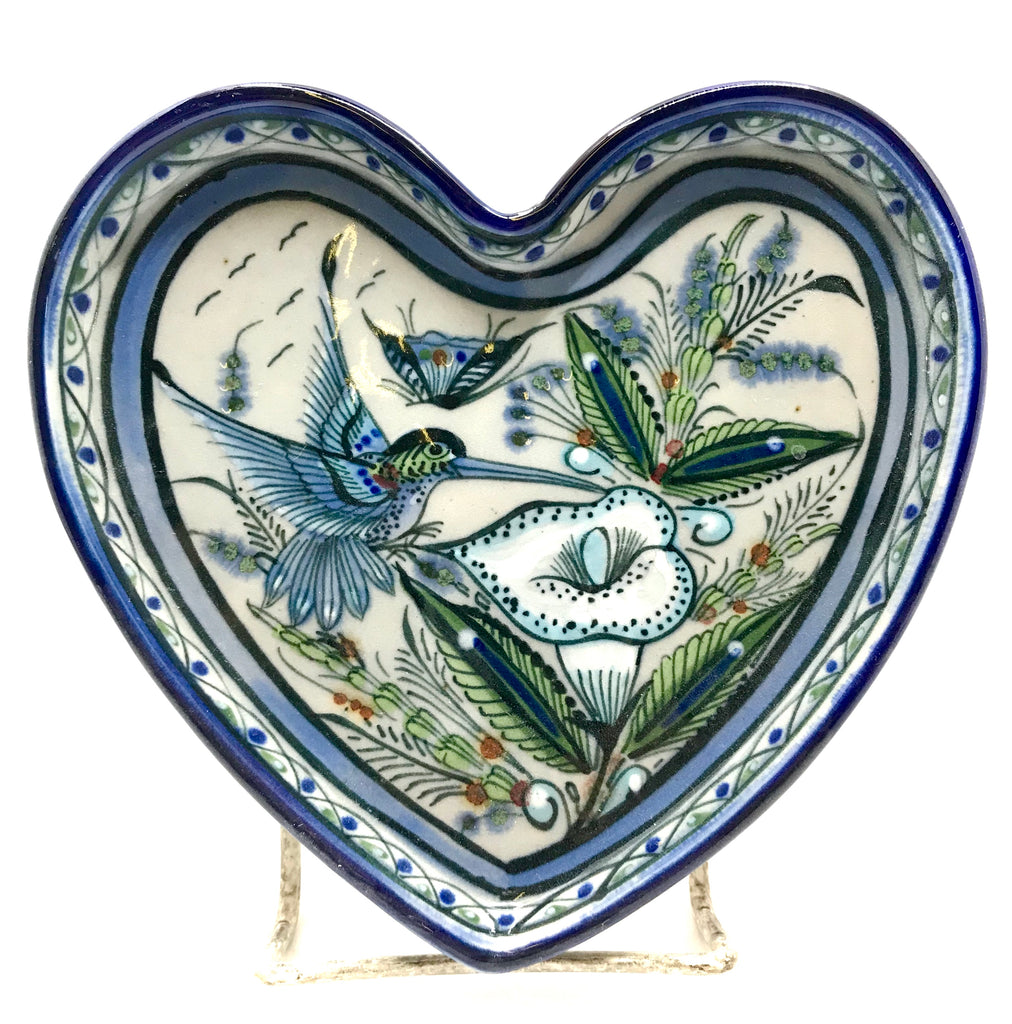 Ken Edwards Pottery Collection Series Medium Heart Tray (KE.CH16)