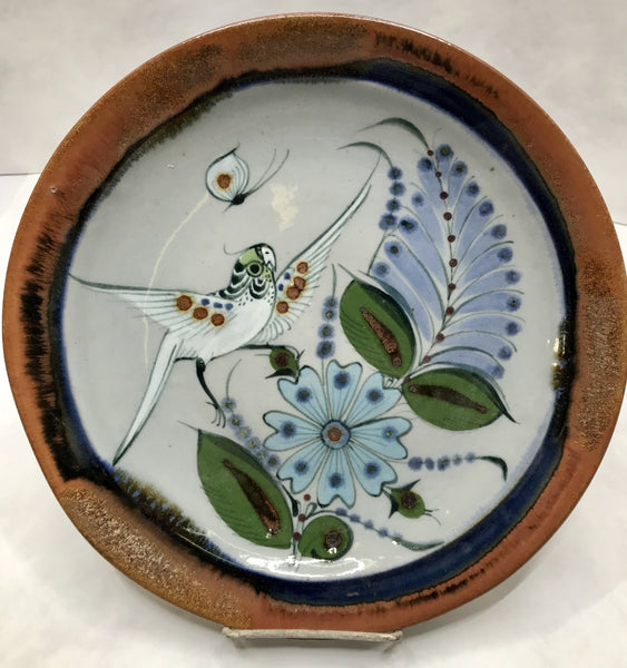 Ken Edwards Pottery Buffet Plate in lead free stoneware. (KE.P0)