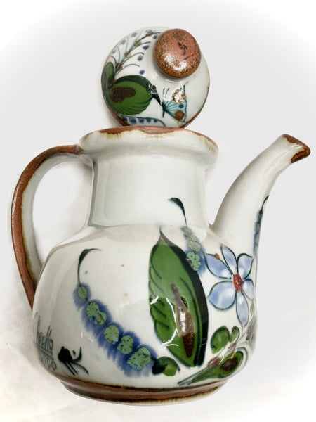 Ken Edwards Pottery Large Teapot in Lead free stoneware from Mexico (KE.V43)