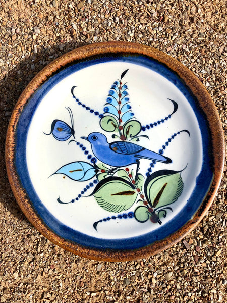 "Ken Edwards Pottery Traditional Bread Plate 7"" (KE.P3A)"