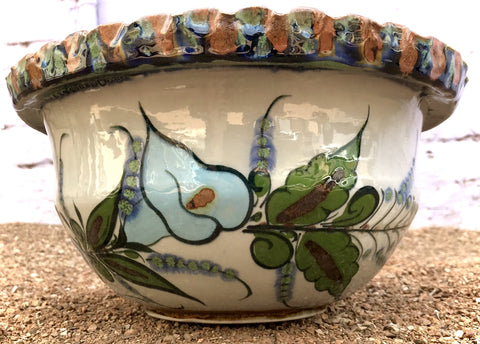 "Ken Edwards Bowl Thrown Extra Big Large 12"" Diameter (TT6)"