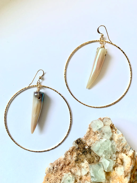 Goblin Hoops Earrings