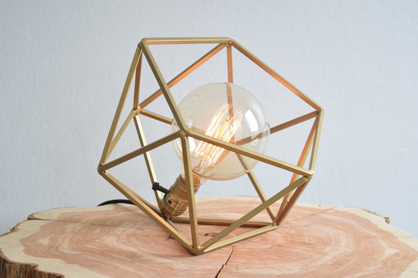 The Mercedes Table Lamp - Gold