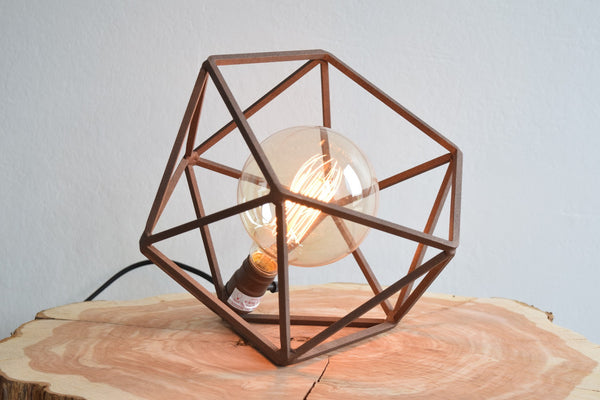 The Mercedes Table Lamp - Cast Copper