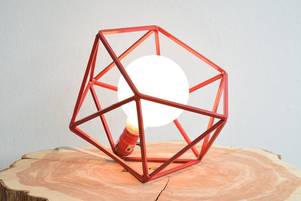 The Mercedes Table Lamp - Red