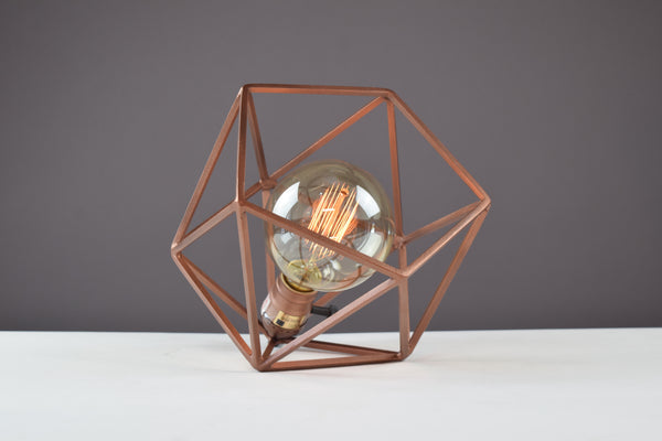 "The ""Mini"" Mercedes Table Lamp - Copper"