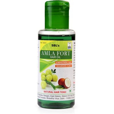 Buy SBL Amla Forte Hair Oil (100ml) online for USD 9.58 at alldesineeds