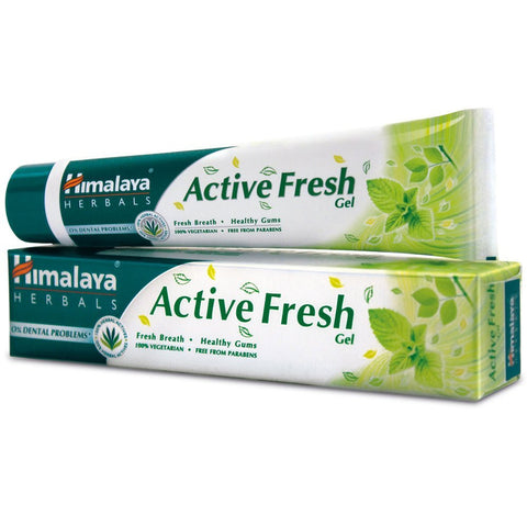 Buy 2 x Himalaya Active Fresh Gel Toothpaste 175 gms each online for USD 15.5 at alldesineeds