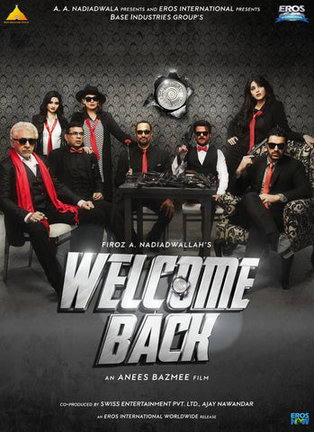 Buy Welcome Back : Bollywood BLURAY DVD online for USD 9.99 at alldesineeds