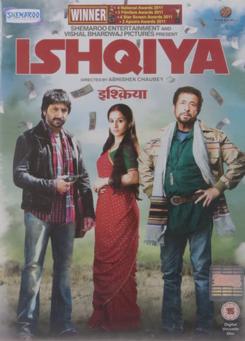 Buy Ishqiya: Bollywood DVD online for USD 8.99 at alldesineeds