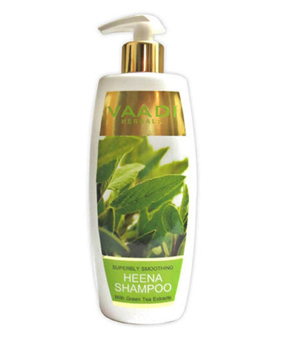 Buy 2 Pack Vaadi Superbly Smoothing HEENA SHAMPOO 350 ml each online for USD 20 at alldesineeds