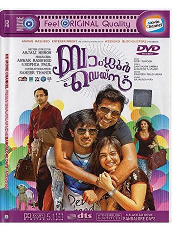 Buy Bangalore Days: Malyalam DVD online for USD 9 at alldesineeds
