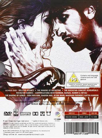 Buy Rockstar : Bollywood BLURAY DVD online for USD 11.25 at alldesineeds