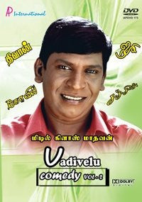 Buy Vadivelu Comedy - Vol. 2: Tamil DVD online for USD 9 at alldesineeds