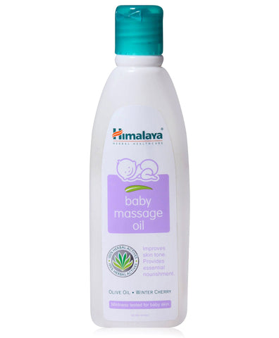 Buy 2 x Himalaya baby massage oil 100ml online for USD 11.45 at alldesineeds